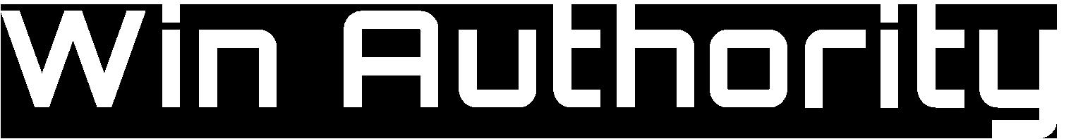 Win Authority White Logo
